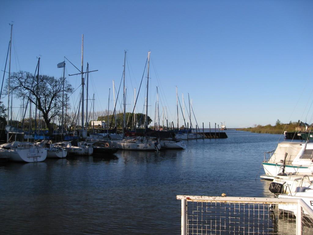 Desembocadura del Canal Alsina/IMPA en el Club Náutico Quilmes