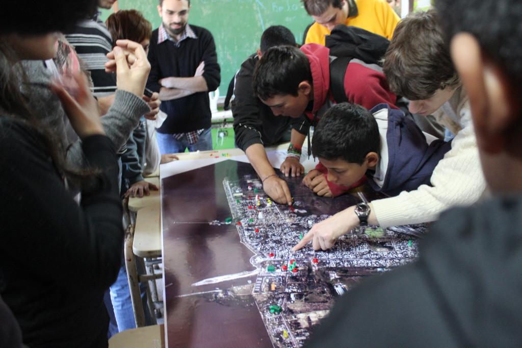 Escuela Nº76. Taller participativo. 24/9/2014