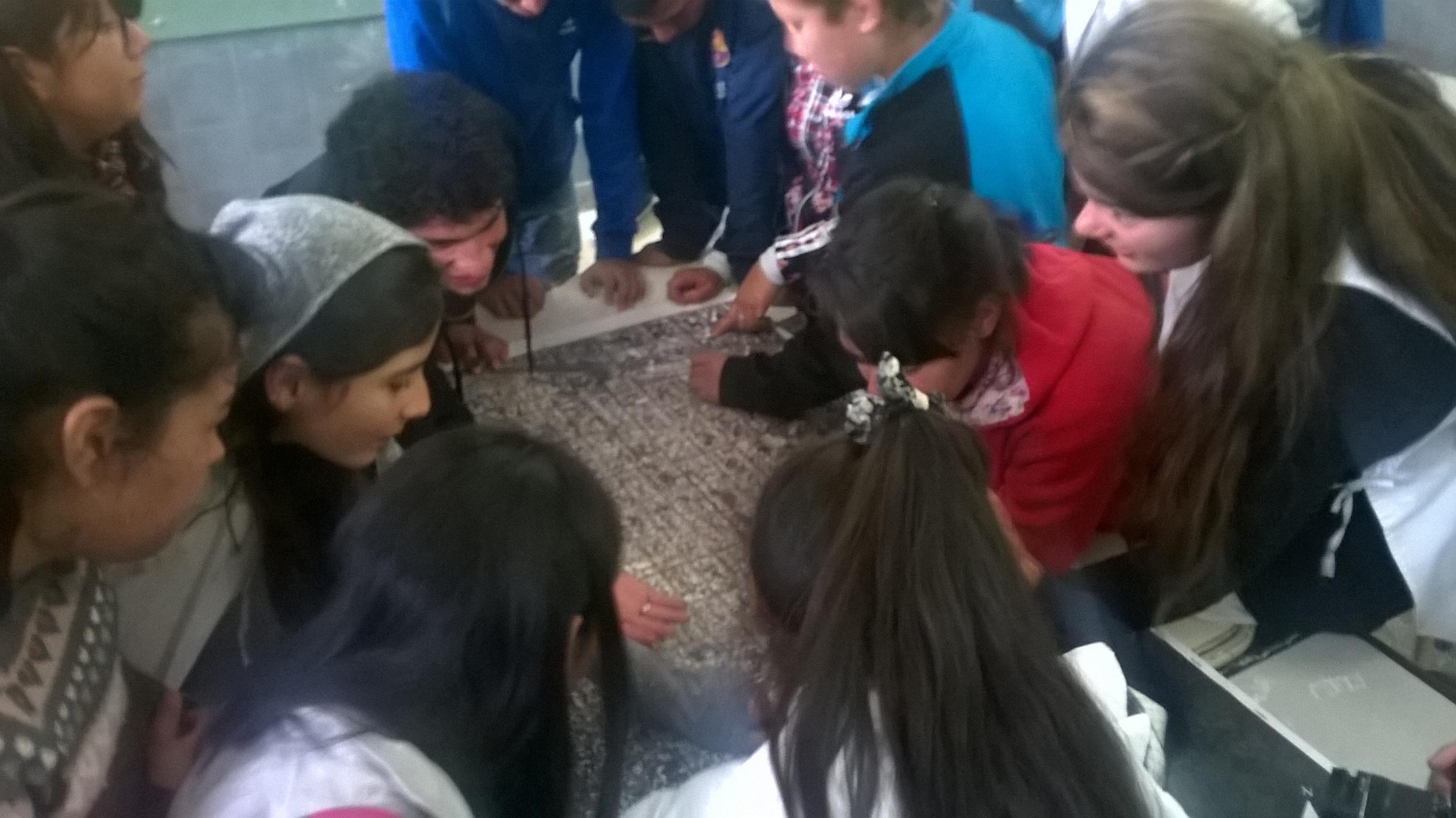 Taller Escuela 130 Laferrere. Matanza. 13 de octubre 2015