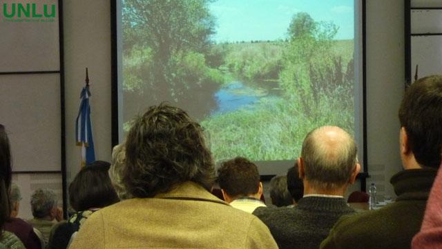 Jornadas de reflexión sobre la cuenca del Lujan organizadas por la Universidad de Lujan.